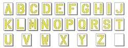 24x16_stencils_alphabet_t  Inch Alphabet Letter Templates on for tracing, free printable large, for kids, medium printable,