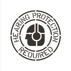 HEARING PROTECTION REQUIRED