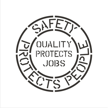 SAFETY PROTECTS PEOPLE - QUALITY JOBS