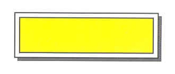 "INTERSECTION CROSSWALK STOP BAR - 7' 6"" x ANY WIDTH UP TO 24"" - 1/16"" THICK PLASTIC"